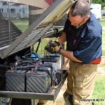 Servicing Motorhome batteries