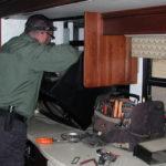 Motorhome Microwave Repair